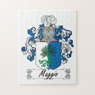 Maggio Family Crest Puzzle