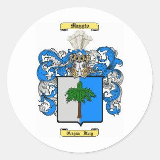 Maggio Round Stickers