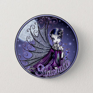 Maggy Blue Moon Adorable Fairy Button