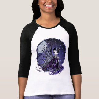 """Maggy""  Dark Victorian Moon Light Faerie T-shirts"