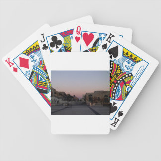 Maghrib Over Amman Bicycle Playing Cards