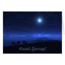 holiday, magi, christmas, wisemen, camels, desert, 3 wiseman, three wisemen, Card with custom graphic design