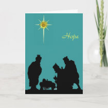 Magi Hope Christmas Card