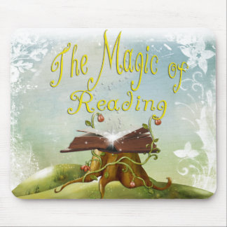 Magi Of Reading Pouse Pad Mouse Pad