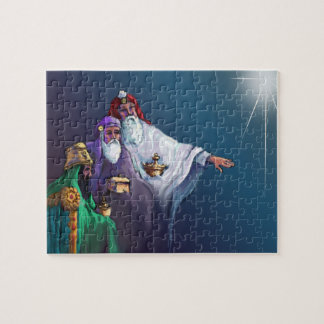 MAGI THREE WISEMEN & STAR by SHARON SHARPE Jigsaw Puzzle