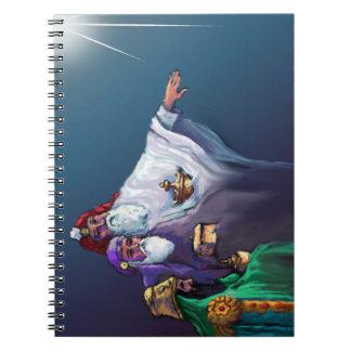 MAGI THREE WISEMEN & STAR by SHARON SHARPE Notebook