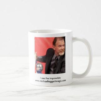 MAGI-WHIRL 2005 065cropped, I see the impossibl... Classic White Coffee Mug