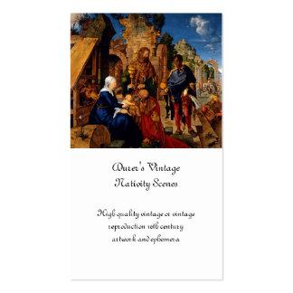 Magi Worship Baby Jesus Business Card
