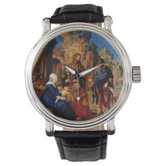 Magi Worship Baby Jesus Wristwatch