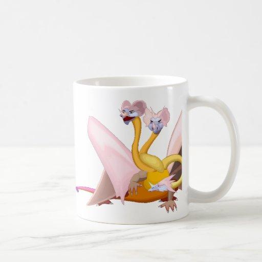 Magia 14 del dragón taza clásica
