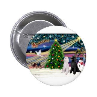 Magia-Caniche ST-Pair2 de Navidad Pin