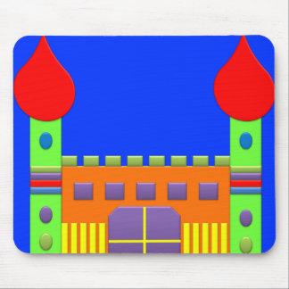 Magia Castel del arco iris de la fantasía del cara Alfombrilla De Ratones