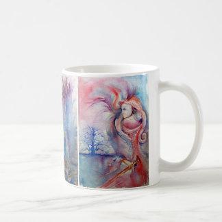 Magia de AVALON, de SEÑORA OF THE LAKE, de MORGANA Tazas De Café