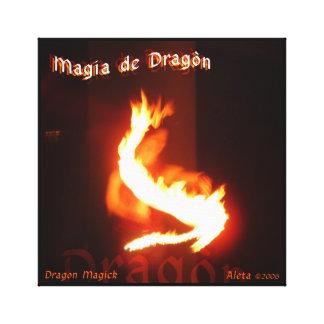 Magia de Dragon ~ Dragon Magick Canvas Print