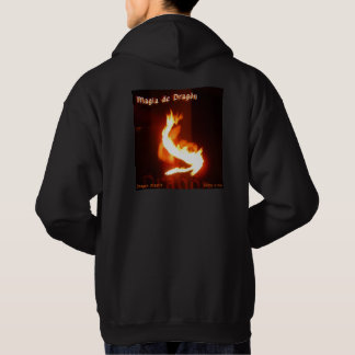 Magia de Dragon ~ Dragon Magick Fireplay Design Hoodie