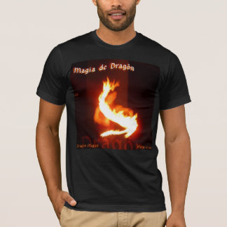 Magia de Dragon ~ Dragon Magick Fireplay Design T-Shirt