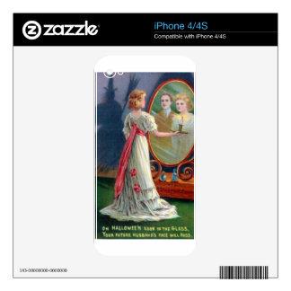 MAGIA DE HALLOWEEN OCULTA SKINS PARA eliPhone 4