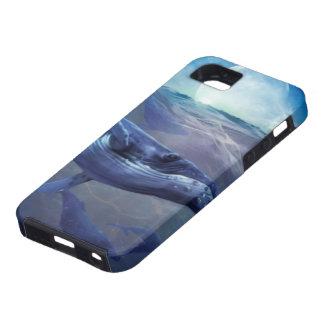Magia de la ballena iPhone 5 Case-Mate protectores