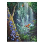 Magia de la selva tropical tarjetas postales