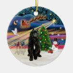 Magia de Navidad - Bouvier (negro) Ornamentos De Reyes Magos