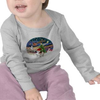 Magia de Navidad - conejillo de Indias 1 gorra Camiseta