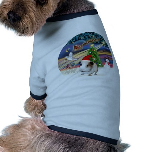Magia de Navidad - conejillo de Indias 1 (gorra) Camisetas De Perrito