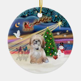 Magia de Navidad - Shih Tzu (p) Adornos De Navidad
