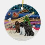 Magia de Navidad - Terranova (TRES) Ornamentos De Reyes