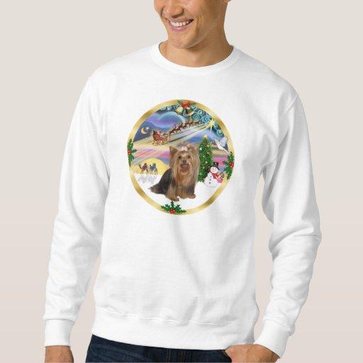 Magia de Navidad (w) - Yorkshire Terrier Sudadera
