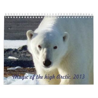 Magia del alto ártico, 2013 calendarios de pared