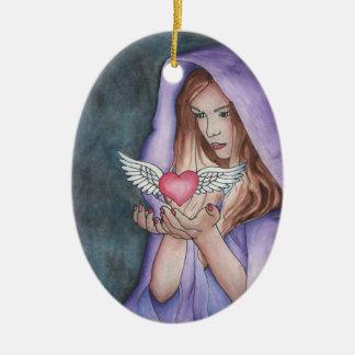 Magia del amor ornamento de navidad
