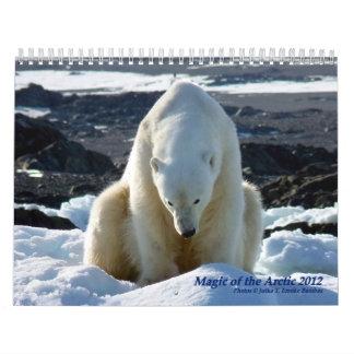 Magia del ártico calendario de pared