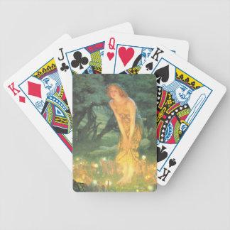 Magia del círculo de hadas cartas de juego