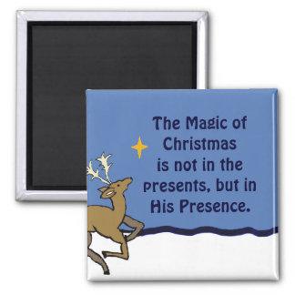 magia del imán del navidad