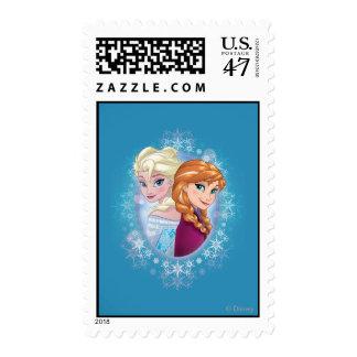 Magia del invierno de Ana y de Elsa el | Timbres Postales