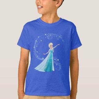 Magia del invierno de Elsa el | Polera