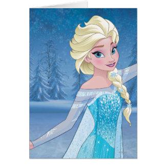 Magia del invierno de Elsa el | Tarjeta De Felicitación