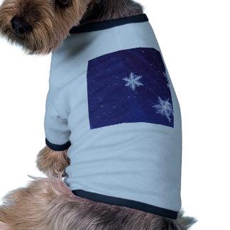 Magia del invierno camiseta de perrito
