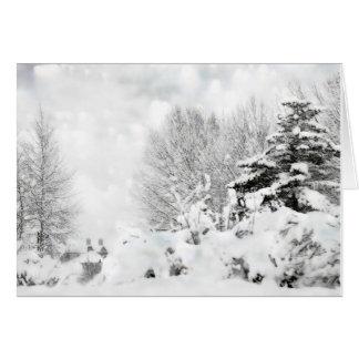 magia del invierno felicitaciones