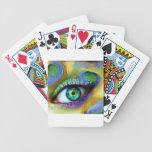 Magia del ojo barajas de cartas