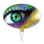 Magia del ojo decoración para tarta