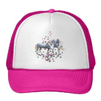 Magia del unicornio gorras de camionero