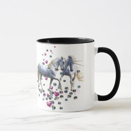 Magia del unicornio taza