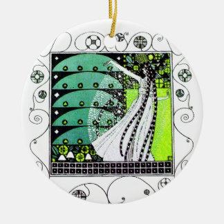 MAGIA del verde de la PRIMAVERA Ornamente De Reyes