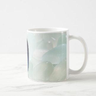 Magia del vidrio del mar taza de café
