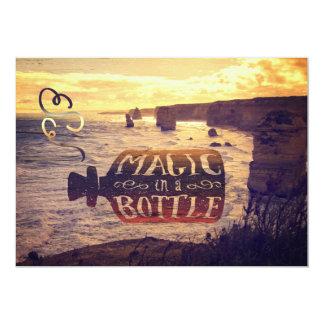 """Magia en camino del océano de los apóstoles de la invitación 5"""" x 7"""""""