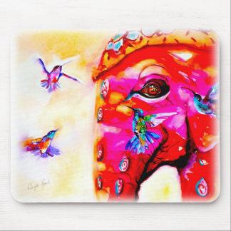 """""""Magia en colibríes de todos los tamaños"""" y Mouse Pads"""