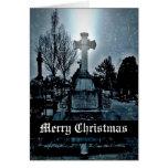 Magia en las Felices Navidad góticas del Felicitaciones