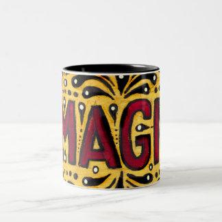 Magia gitana taza