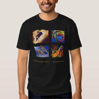 Magia: La camiseta de acopio Polera
